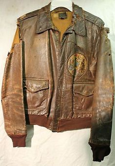 Details about US WW2 G1 A2 B15 FLYING TIGERS JACKET CBI NAMED ...