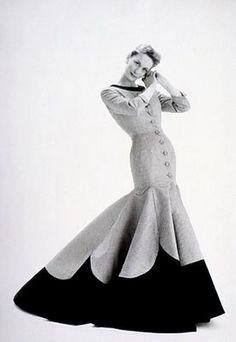 Coat dress, Lachasse, 1955