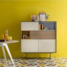 AURA 133 by Treku Love the yellow wall <3