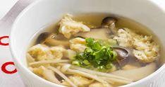 きのこのうま味が溶け込んだ、ほっと落ち着くやさしい味わいの和風スープ♪ふわふわに仕上げた卵の食感も最高!