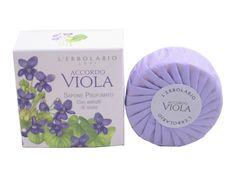 Accordo Viola (Violet) Scented Soap Bar by L'Erbolario Lodi
