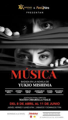 LIMA VAGA: Roberto Moll y Andrea Luna protagonizan Música
