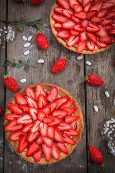 Tarte aux fraises – Cuisine moi un mouton