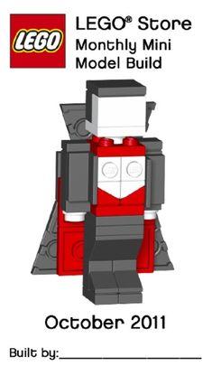 LEGO MMMB042-1: Dracula | Brickset: LEGO set guide and database