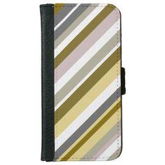 """""""Earthy"""", Rustic-Like Stripes Pattern"""