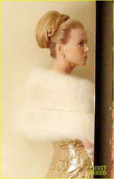 Nicole Kidman Films Scenes For 'Grace Of Monaco'