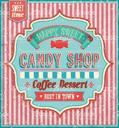 Candy shop. royalty-free stock vector art