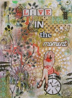 #papercraft #artjournal by socr8v: Paper traders March art journal page and another art journal page