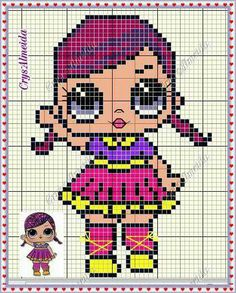 62 Best Lol Surprise Perler Images Lol Dolls Stitch