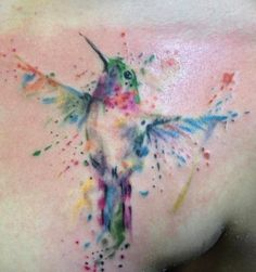 I think I'd prefer a Cardinal. I reaaalllyyyyy love watercolor tattoos!