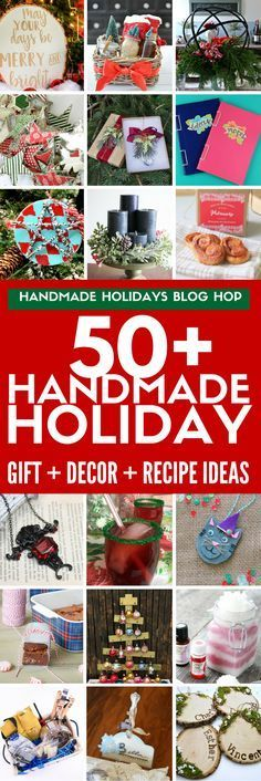Find over 50 DIY gift ideas, holiday decor projects , holiday recipes, and food gift ideas from your favorite DIY bloggers and craft product companies. Win one of 11 prizes worth $50 each from amazing sponsors! EVERY blog post has a tutorial showing how t