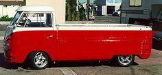 1957 VW singlecab pickup truck electric car conversion
