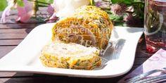 Diese Rösti Rolle Low Carb mit Frischkäse-Schinken-Füllung ist ein echter Geschmackstraum & kann auch vegetarisch abgeändert werden. Unbedingt nachmachen.