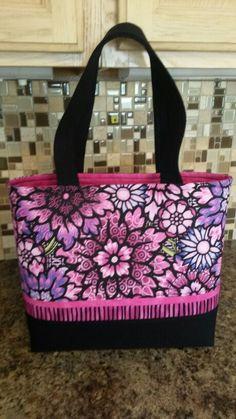 My Tuscany tote. Pink Sand Beach designs.