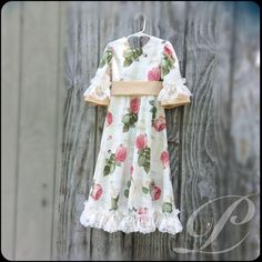 A Beautiful Floral Dress For That Special Girl Of Yours!!!