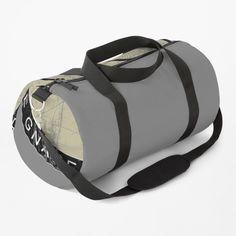 Flat Earth Society, Biker, Skull Design, Glass Slipper, Work Travel, Duffel Bag, Baggage, The Guardian, Rock And Roll