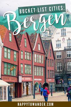 Bergen, Norway <3 Absolutely unreal & beautiful. #travel #norway