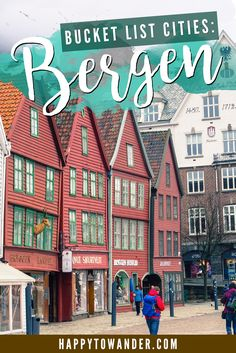 One of the most charming cities in Norway - beautiful Bergen!
