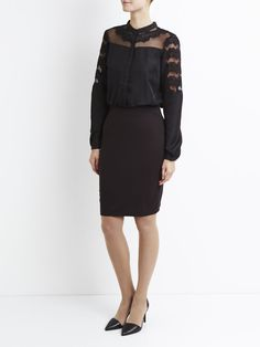 In Dotted Boards 2018 Black Dressesskirts Vila Wrap mood Dress wZCqC0