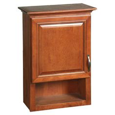 Design House Montclair Bathroom Wall Cabinet With 1 Door And 1 Shelf
