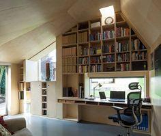 Cut and Frame House, London : ashton porter architects