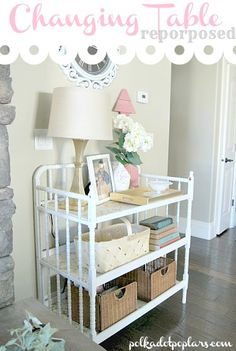 Changing Table Reporposed- oh my, looks just like ours.