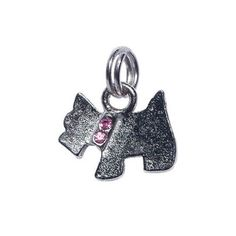 Pingente Schnauzer Rosa São Pet -  MeuAmigoPet.com.br #petshop #cachorro #cão #meuamigopet