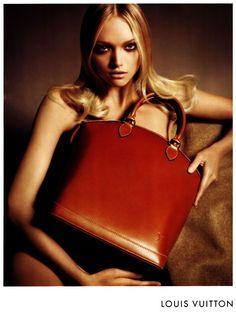 LV red bag