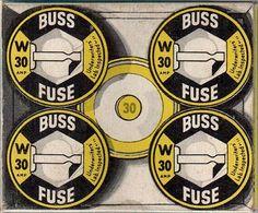 Buss fuses vintage packaging