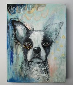 It's ok to dream - original painting by Micki Wilde...SOLD