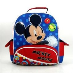 Mickey Mouse Toddler Backpack Mickey Mouse Backpack e6f7509d2538