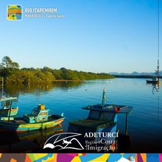Vamos começar bem a semana com essa vista linda das margens do Rio Itapemirim.  #amorS2es #belezasdacostaeimigracao #lindodemais #adeturcimarataizes