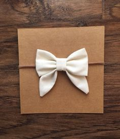 Sailor bows you choose small or large baby girl by AddalynJoAndCo