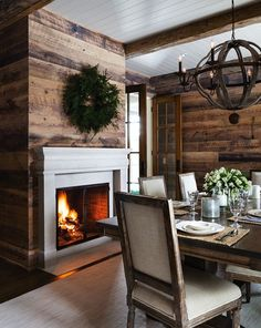 christmas dining room