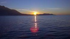 Anche d'inverno abbiamo la fortuna di ammirare questi tramonti...    #ischia #ischiameteo #viraccontolitalia