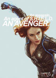 Natasha Romanoff : The Black Widow