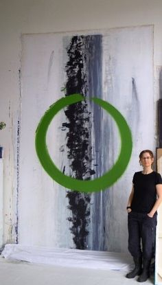 "Contemporary paintings by Marta Baricsa.    ""Your non-narrative paintings evoke contemporary Japanese calligraphy""  - Nato Thompson, Curator MASS MoCA"