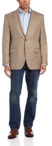 Tan Blazer by Joseph Abboud. Buy for $249 from Amazon.com