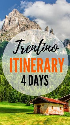 Perfect 4 day Dolomites Itinerary. Guide to how to plan and spend a great time in Trentino, Italy. So take a notebook and a pen and have a read! #travel #travelphotography #traveltips #trentino #trentinomta #italy #dolomites #italianalps