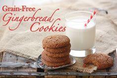 Grain-Free Gingerbread Cookies | The Mommypotamus |