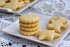 Galletas de mantequilla Thermomix Pan Dulce, Crackers, Cookies, Baking, Desserts, Recipes, Food, Pastel, Salads