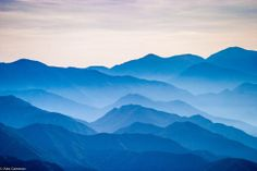 San Gabriel Mountains at Sunrise by Alex Cameron