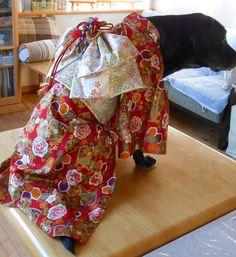大型犬の着物製作 丘さんの作品