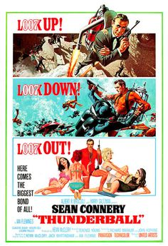 Thunderball                          What exactly do you do?  James Bond: Oh, I travel... a sort of licensed troubleshooter.