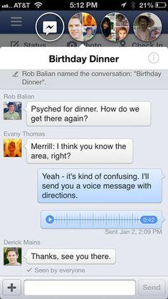 Facebook actualiza su versión para iPhone e iPad | iPad Books