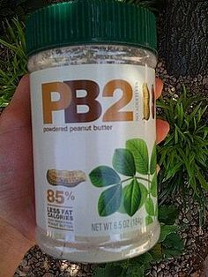 "Love peanut butter but hate the fat, calories, and trans fat?  This is peanut butter ""powder"" and AWESOME!  2TBS is only 45 calories and 1.5 fat; 5 grams protein!  Come on!  Is this a dream??  I use it in Fage 0% yogurt with a little sweetner and omg, its like eating a bowl of peanut butter.  I mix it in oatmeal with chocolate chips, and baking...especially with chocolate cookies and brownies....so yummy!  BEST PRODUCT EVER."