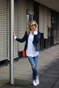 60262f5805 16 melhores imagens de Look com camisa branca