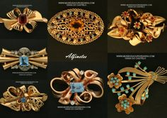 Ouro de Viana, alfinetes tradicionais portugueses. Antique and popular portuguese jewelry