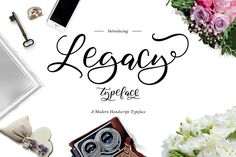 Legacy Typeface Fonts Hello world. this is Legacy typeface, simple and easy to create awesome lettering, just type your by thirtypath Handwritten Fonts, Script Fonts, All Fonts, Free Typeface, Typeface Font, Typography, Character Map, Free Fonts Download, Font Free