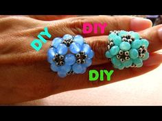 #DIY FLOR DE PÉROLAS E CRISTAIS - YouTube